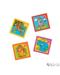 Zoo Animal Slide Puzzle