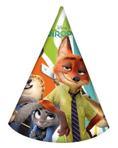 Zootropolis Party Hats