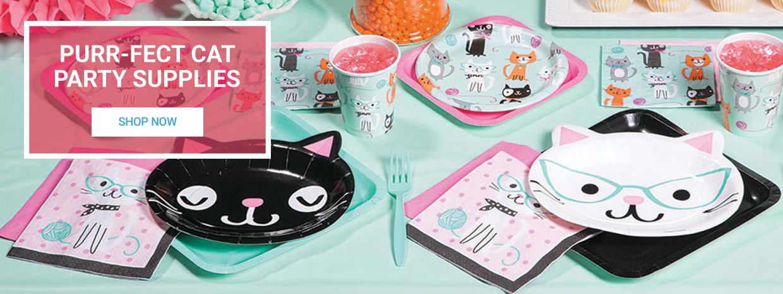 Purr-fect Cat Party Supplies