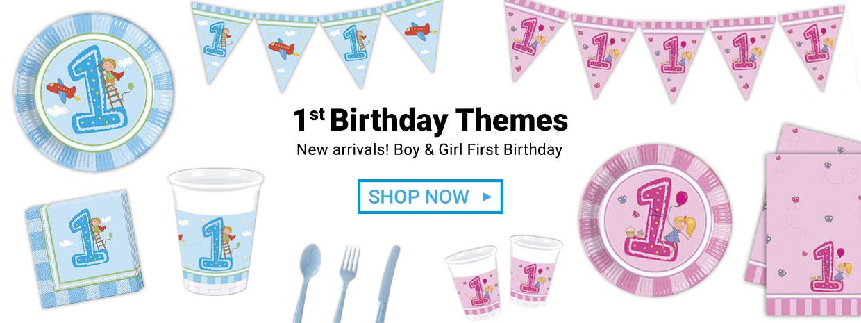 First Birthday Themes