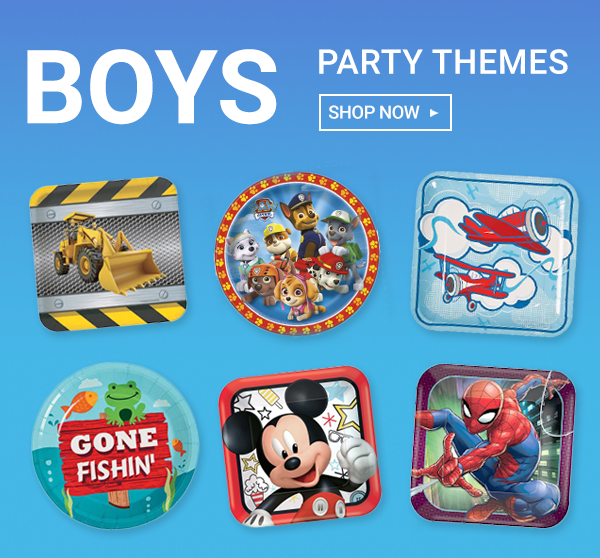 Boys Party Supplies