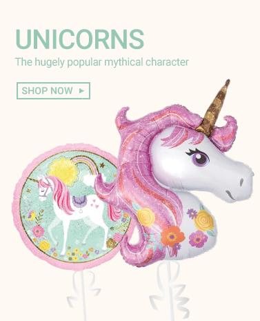 Unicorn Foil Balloons