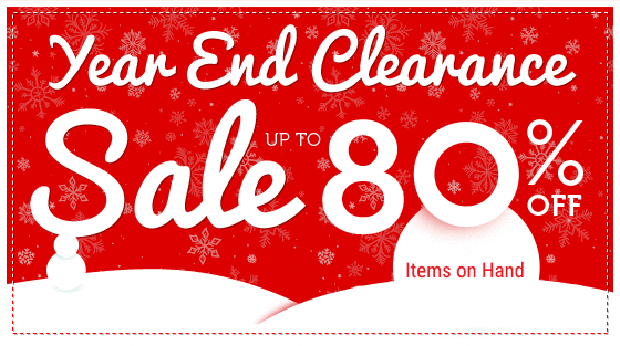 Year End Sale UP TO 80% OFF Stock on hand Items