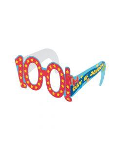 100th Day of School Cardboard Glasses