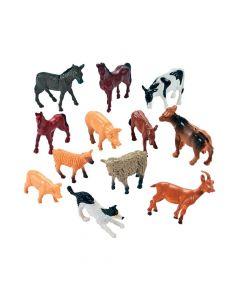 12 Farm Animal Friends