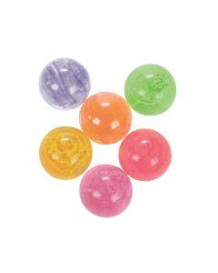 12 Neon Confetti Bouncing Balls