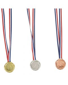 1st, 2nd and 3rd Place Award Medals
