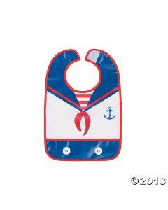 1ST Birthday Sailor Bib
