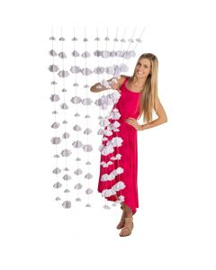 3D Hanging Clouds Curtain Backdrop
