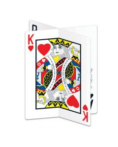 3D Playing Card Centerpiece