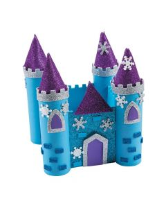 3D Winter Castle Craft Kit