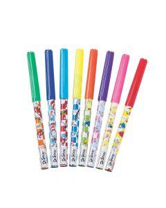 8-Color Dr. Seuss™ Fine Tip Washable Markers - 12 Sets