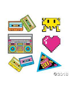 80S Party Cutouts