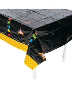 80'S Party Plastic Tablecloth