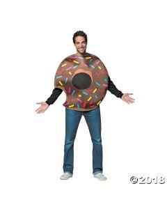 Adult Chocolate Donut Costume