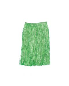 Adult's Green Hula Skirt