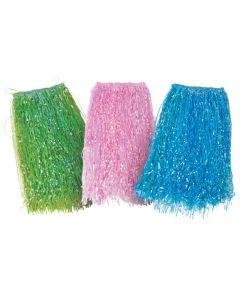 Adult's Iridescent Hula Skirts