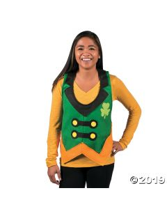 Adult's Leprechaun Novelty Vest