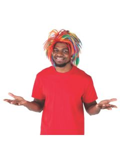 Adult's Rainbow Wig