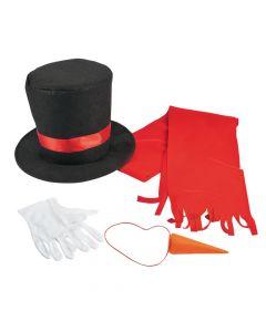 Adult's Snowman Costume Kit