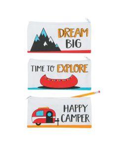 Adventure Canvas Pencil Cases