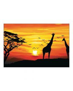 African Safari Backdrop