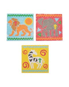 African Safari VBS Sand Art Pictures