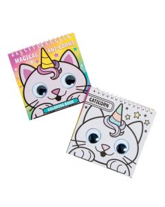 Anicorn Googly Eyes Spiral Coloring Books