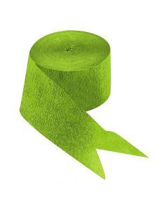 Apple Green Paper Streamers