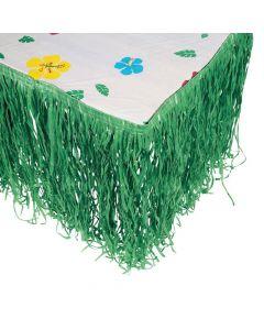Artificial Grass Tropical Green Table Skirt