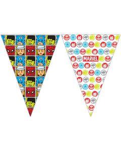 Avengers Team Power Triangle Flag Banner