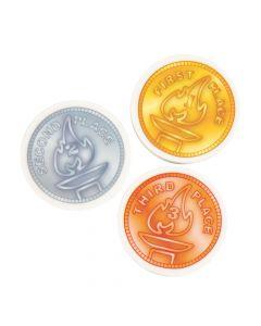 Award Medal Erasers