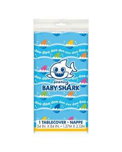 Baby Shark Plastic Tablecloth