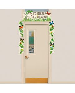 Backyard Adventure Door Decorating Kit