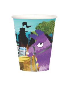 Battle Game Paper Cups