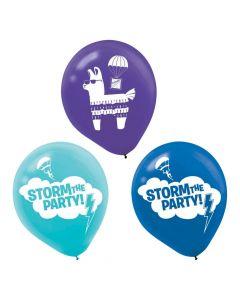 "Battle Royal 12"" Latex Balloons"