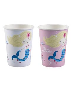 Be a Mermaid Paper Cups