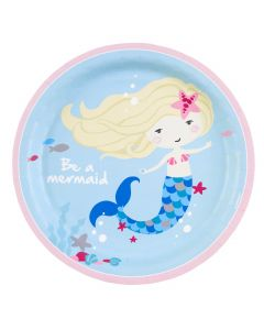 Be a Mermaid Paper Plates