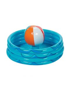 Beach Ball in Pool Inflatable Cooler
