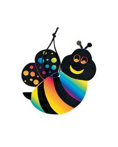 Bee Magic Color Scratch Ornaments