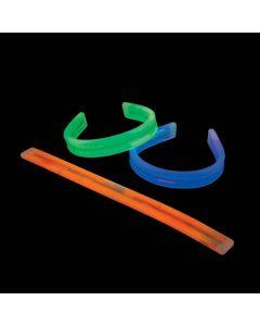 Bendable Halloween Glow Bracelets