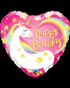 Birthday Magical Unicorn Foil Balloon