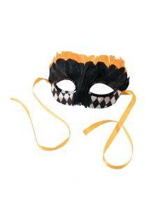 Black and Gold Harlequin Masks