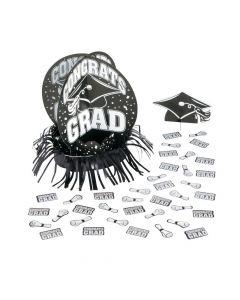 Black Graduation Table Decorating Kit