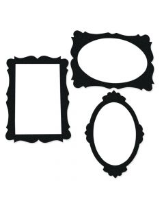 Black Picture Frame Cutouts