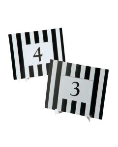 Black and White Table Frames
