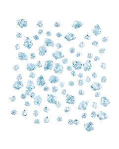 Blue Acrylic Ice
