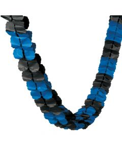 Blue and Black Garland