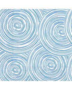 Blue Circles Paper Napkins - Eco Friendly