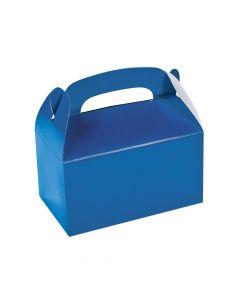 Blue Favor Boxes